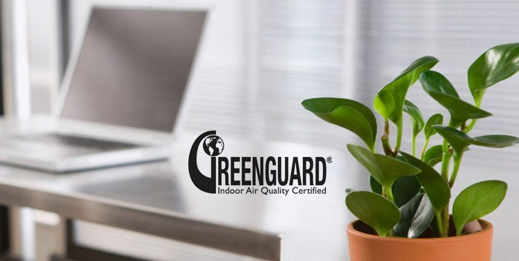 greenguard qualité de l'air au bureau
